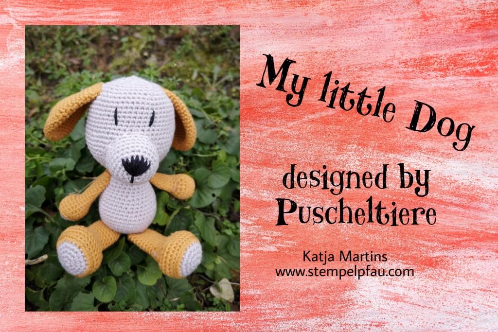My little Dog - Probehäkeln für Puscheltiere, Stempelpfau