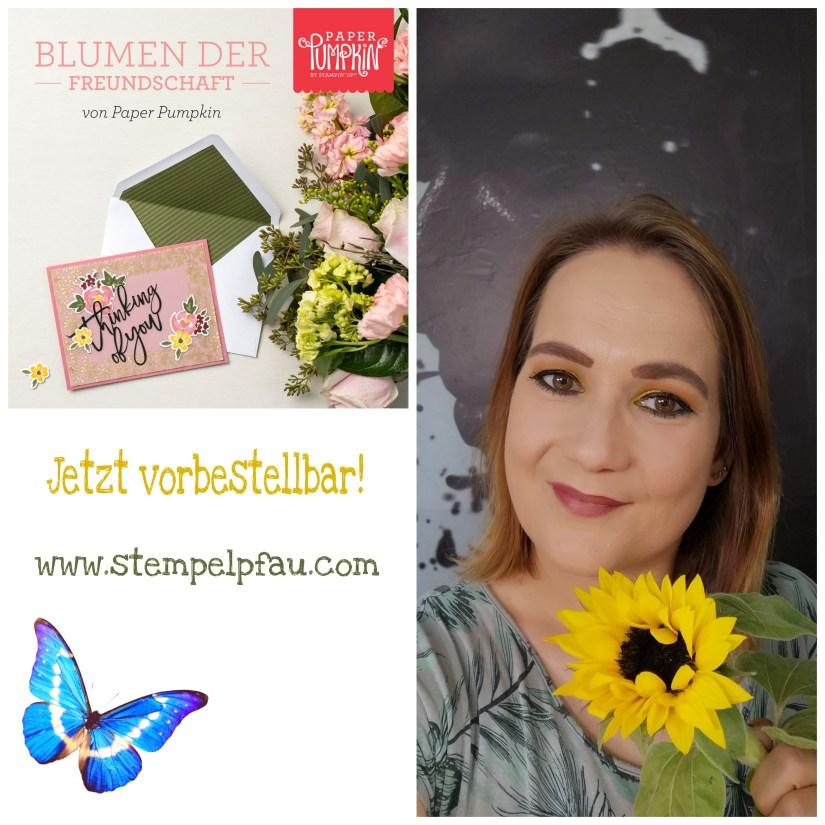Blumen der Freundschaft - Das neue Paper Pumpkin Set