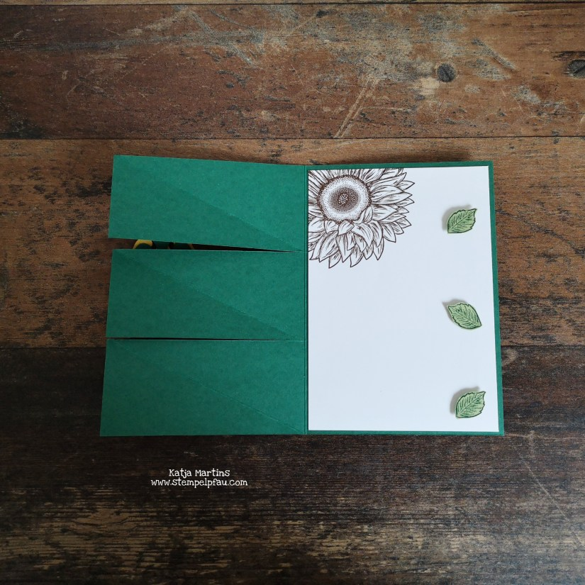 Tripple Twisted Easel Card