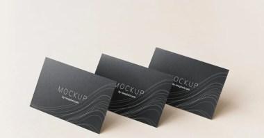 plastikowa wizytówka