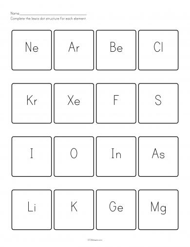 Dot Diagram Worksheet Worksheets For School - Signaturebymm