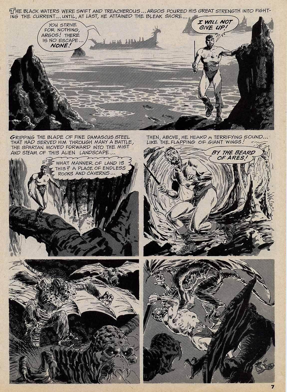Dark Kingdom Gray Morrow Horror Tale Notes From