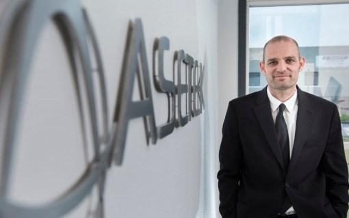 AndrÈ Sloth Eriksen, adm. direktør og grundlægger af Asetek a/s. Foto: © Michael Bo Rasmussen / Baghuset. Dato: 12.05.15 Presseudsendelse. Kan frit anvendes ved omtale af Asetek.