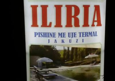 "Hotel Kurativ ""Iliria"" Llixha Elbasan"