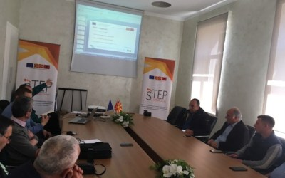 The first focus group for branding the STEP network was held in Elbasan, Albania