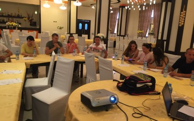 Third traning for STEP members in Peqin