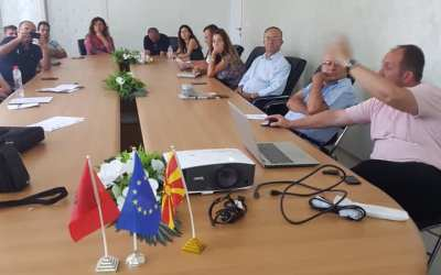 Info session for small action grants call for tourism as part of STEP held in Elbasan