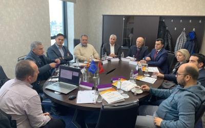 Takimi i dytë i Bordit Këshillëdhënës të STEP u mbajt në 6 Mars në Tetovë.