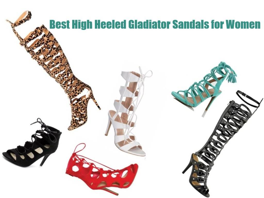 b1f097848 The Best High Heeled Gladiator Sandals in 2017-2018  Six Brands