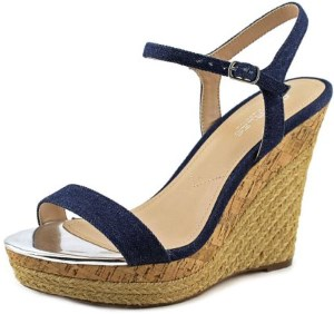 Charles By Charles David Arizona Women Blue Wedge Sandal Review
