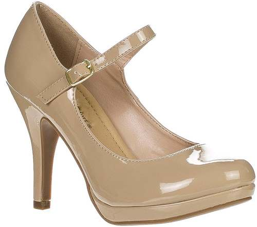City Classified Womens Kaylee-H Mary Jane Pumps Shoes