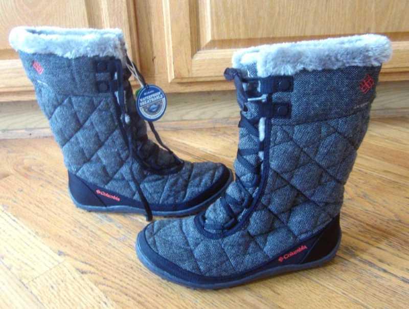 Columbia Women's Minx Mid II Omni-Heat Winter Boot Gray
