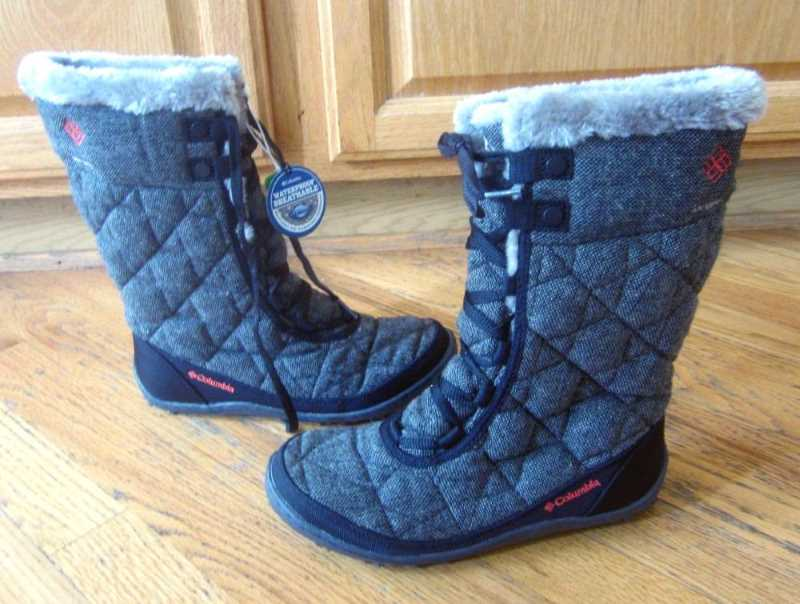 Columbia Women's Minx Mid II Omni-Heat Winter Boot Gray