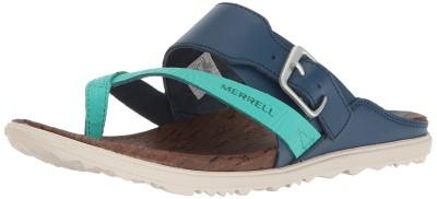Merrell Women's Around Town Thong Buckle Print Sandal