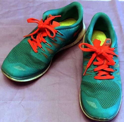 Nike Free 5.0 orange aqua