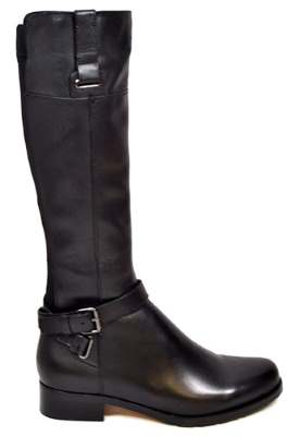 Solemani Gabi Women's Brown Leather X-Slim Calf Riding Boot
