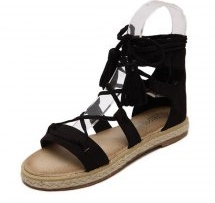 Zaful's Espadrilles Sandal