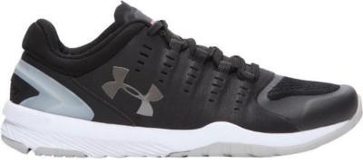 under armour black white sneaker