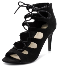 Ollio Women's Lace-up Gladiator Bootie Review