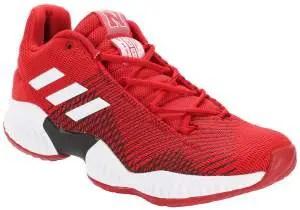 Nebraska Cornhuskers adidas Pro Bounce Low Training Sneaker