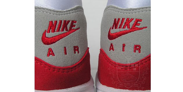 nike original logo on the sneaker