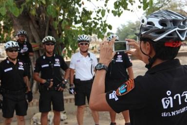 2014.06.23 - 08 - Полицейские-велосипедисты Таиланда