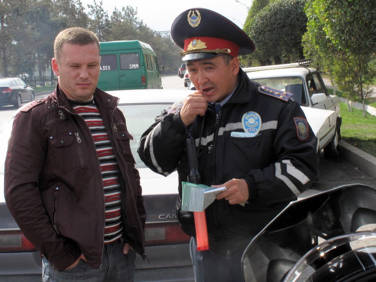Национальные особенности ПДД Казахстана
