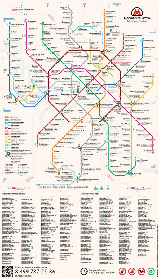 Альтернативная схема московского метро Антона Мизинова
