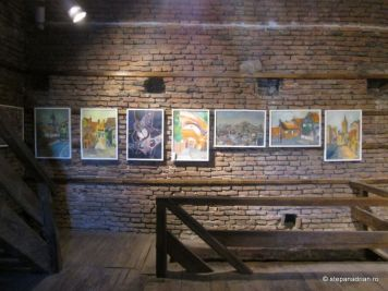 Turnul Sfatului Sibiu-expozitie pictura arta