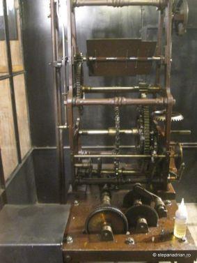 Turnul Sfatului Sibiu-mecanism ceas din turn