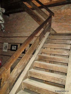 Turnul Sfatului Sibiu-scări lemn