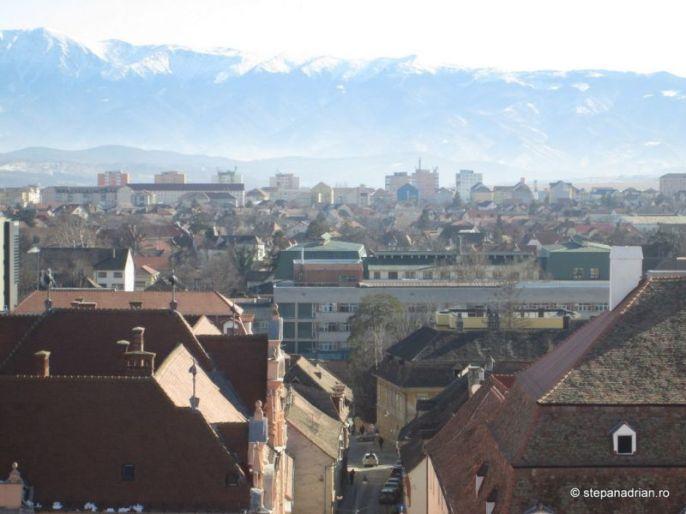 Turnul Sfatului Sibiu-vedere din turn 2