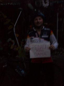 Claudiu Moga a mai pedala 60 de KM pentru campania Oanei. Îi mulțumim :)