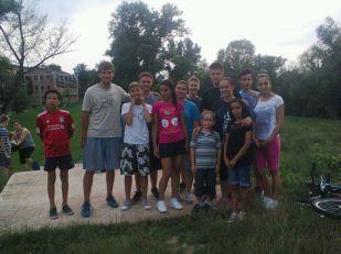 Echipa din Lipova a alergat 30 KM în total :)