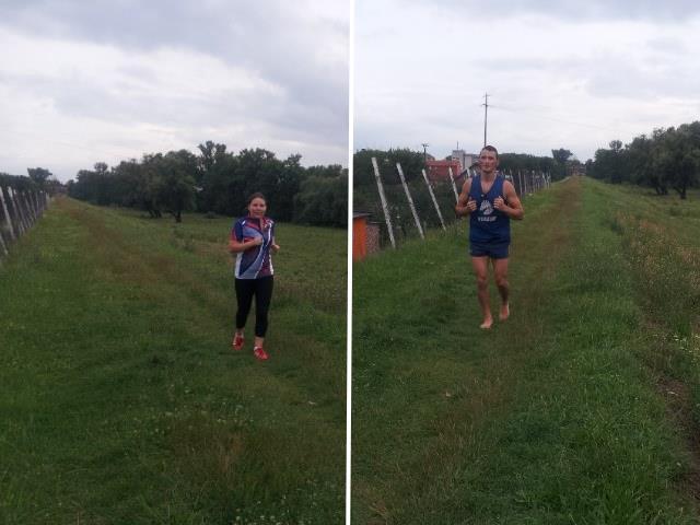 Vlad și Andreea Ciobanu au Alergat 11 KM în 23 iulie pentru Oana. Mulțumim!