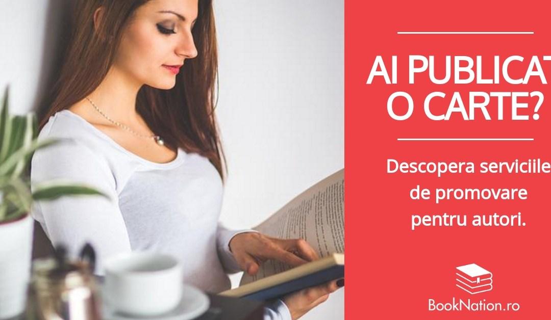 Servicii de promovare pentru autori de carte – Proiect Personal