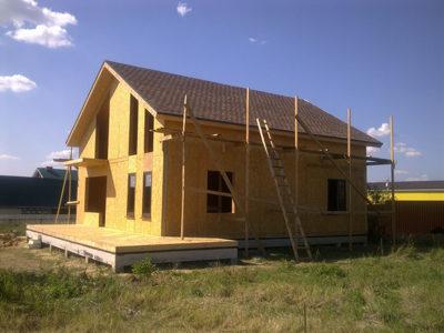 Возведение двухэтажных домов по канадской технологии