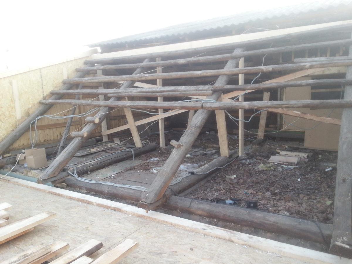 Капитальная реконструкция дачного дома