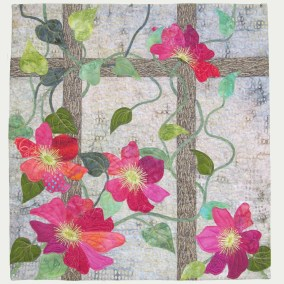 Clematis Wallhanging with Marlene Chaffey