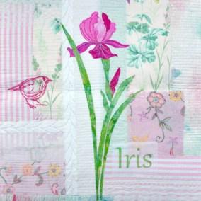 Iris Wallhanging