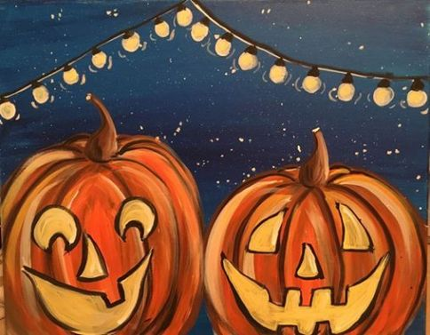 Pumpkins Archives Step By Step Painting - How to paint a pumpkin