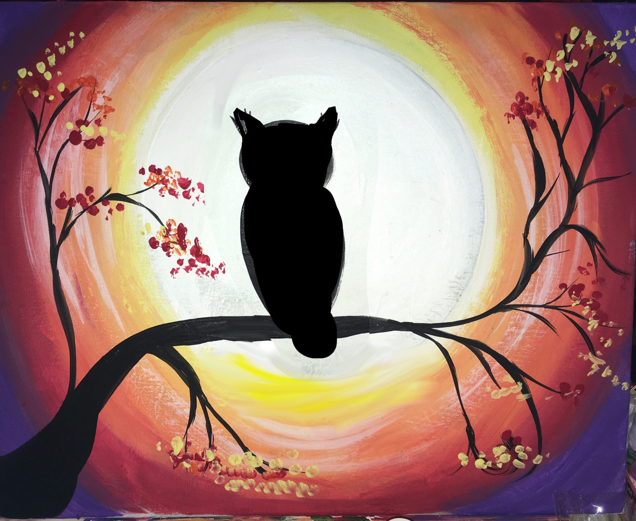 Step By Step Painting - Canvas Acrylic Painting For The ... - photo#14