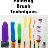 Acrylic Painting Brush Techniques