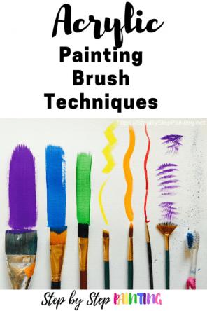 Acrylic Brush Techniques