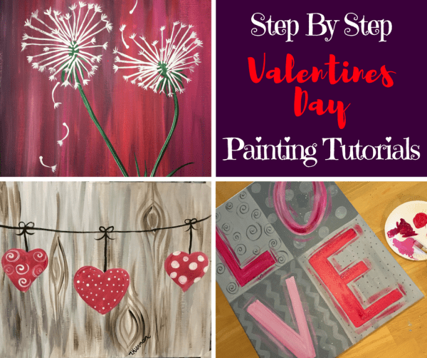 valentines day archives step by step painting - 940×788