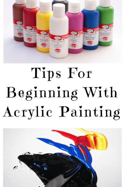 16 Tips For Beginning With Acrylic Painting Step By Step