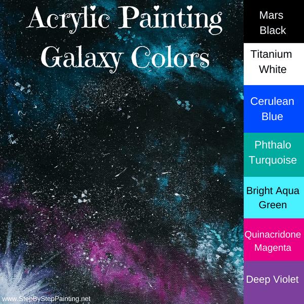 Galaxy painting