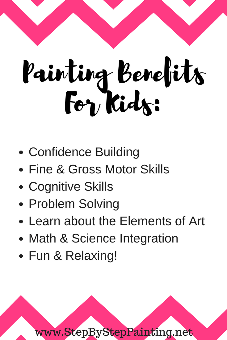 Painting benefits for kids