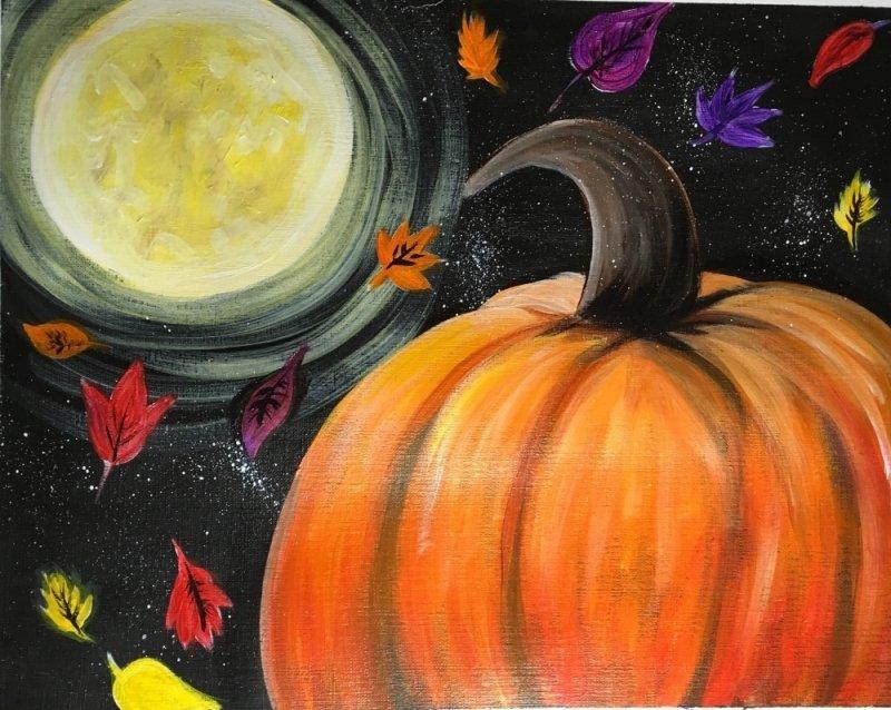How To Paint A Pumpkin Harvest