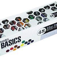 Liquitex BASICS Acrylic Paint Tube 48-Piece Set